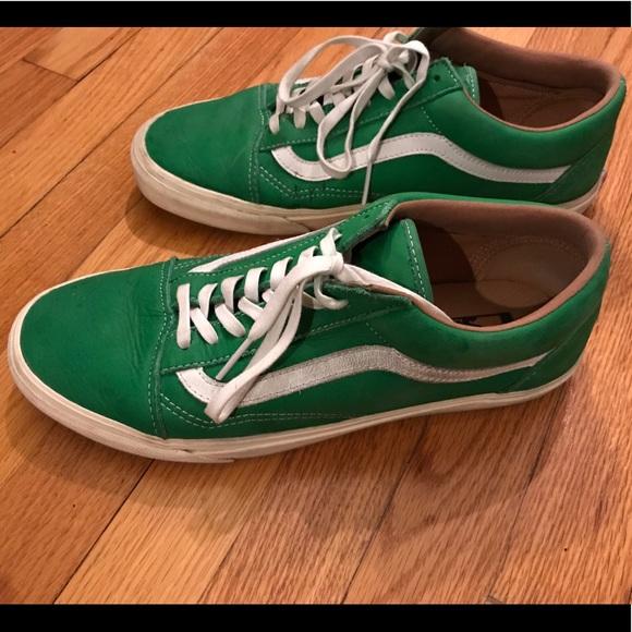 Vans Shoes   Vans Old Skool Kelly Green